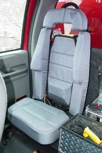 Rear SCBA Seats - Ford Super Duty