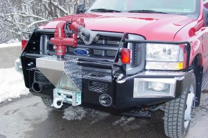 Reunel Front Bumper with Winch & Remote Turrett Gun