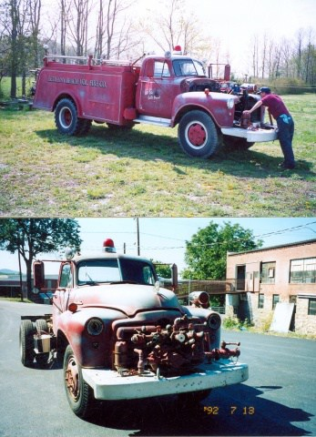 Bethany Beach Pumper Restoration 1
