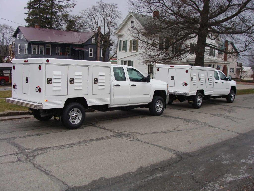 Ottawa County Animal Control Trucks